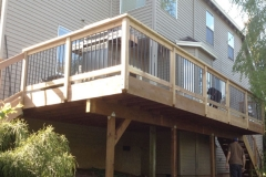 Railings by Colonial Decks and Fences