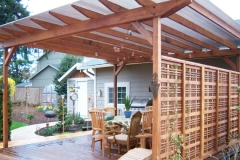 Trellises by Colonial Decks and Fences